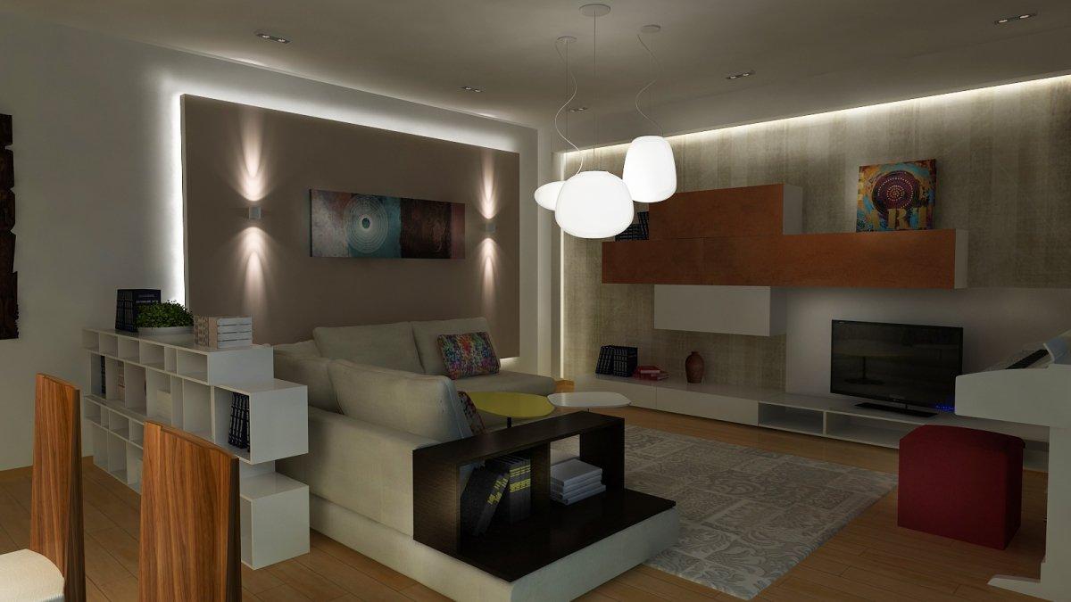 Amenajare interioara - Apartament accente Pop-art-11