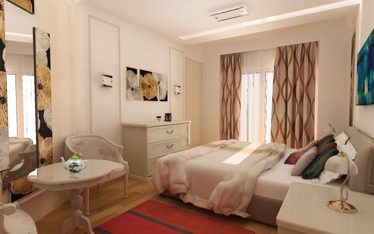 Amenajare interioara - Apartament accente Pop-art-16