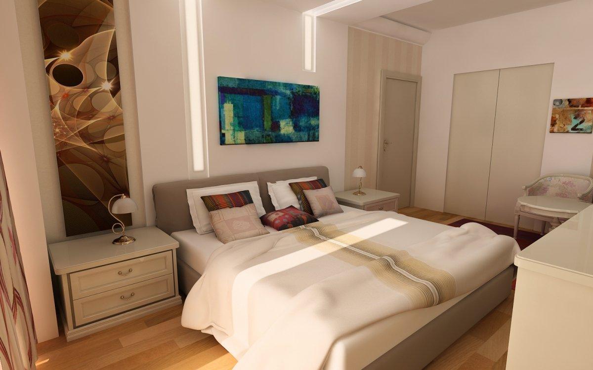 Amenajare interioara - Apartament accente Pop-art-17