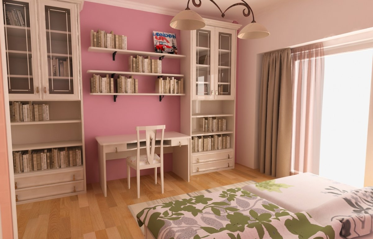 Amenajare interioara - Apartament accente Pop-art-22