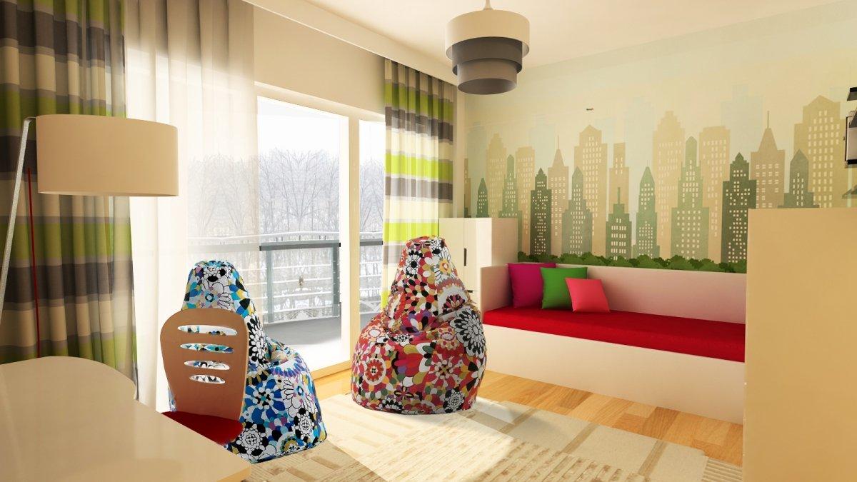 Amenajare interioara - Apartament accente Pop-art-26