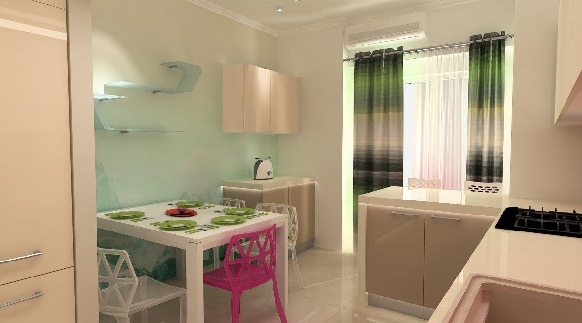 Amenajare interioara - Apartament accente Pop-art-27