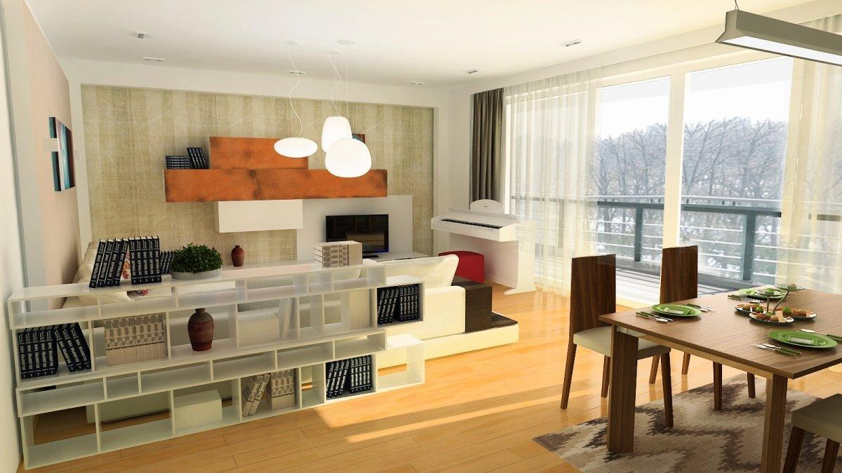 Amenajare interioara - Apartament accente Pop-art-6