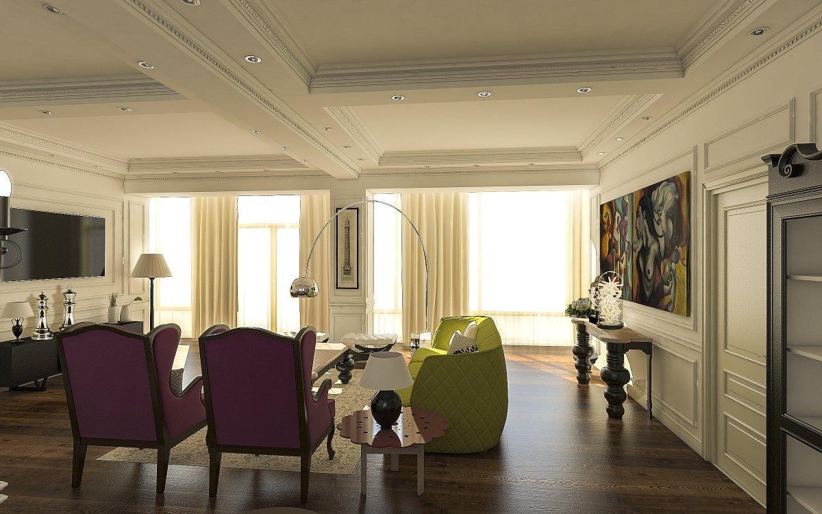 Amenajare interioara apartament- Farmecul stilului eclectic-5