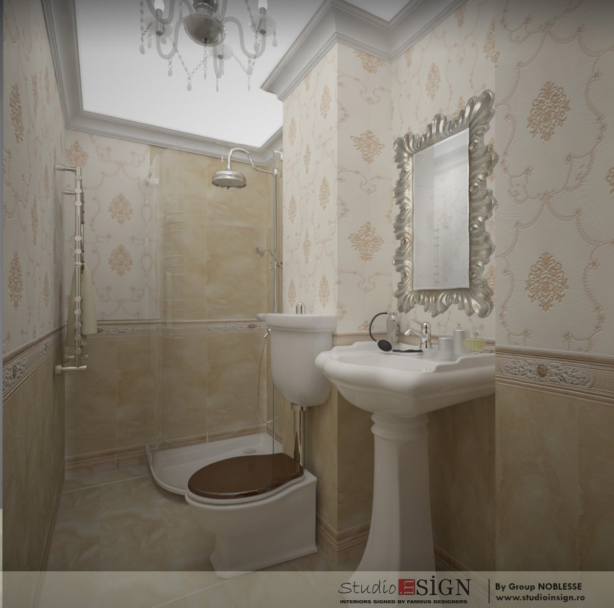 Amenajare interioara apartament clasic-11