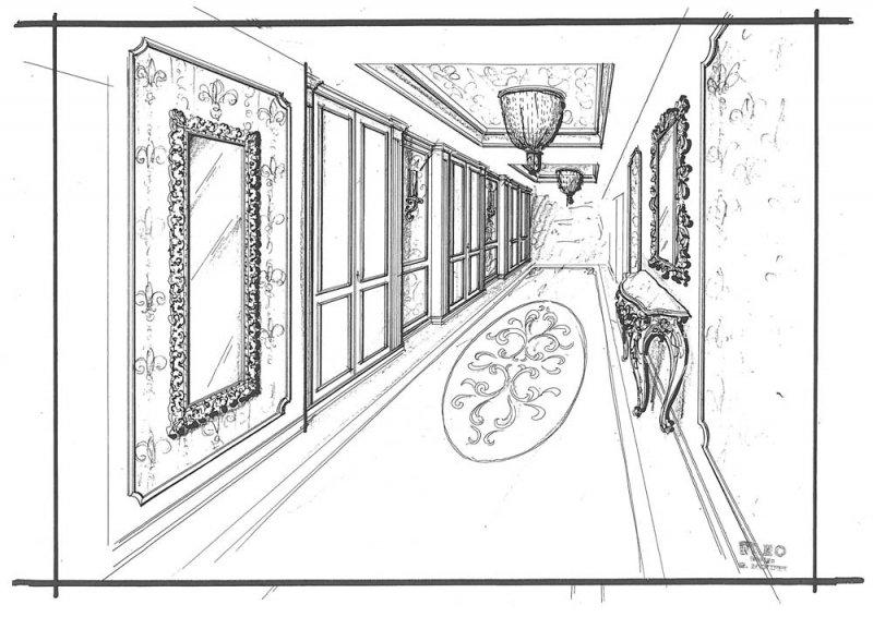 Amenajare interioara casa- Penthouse in stil clasic-4