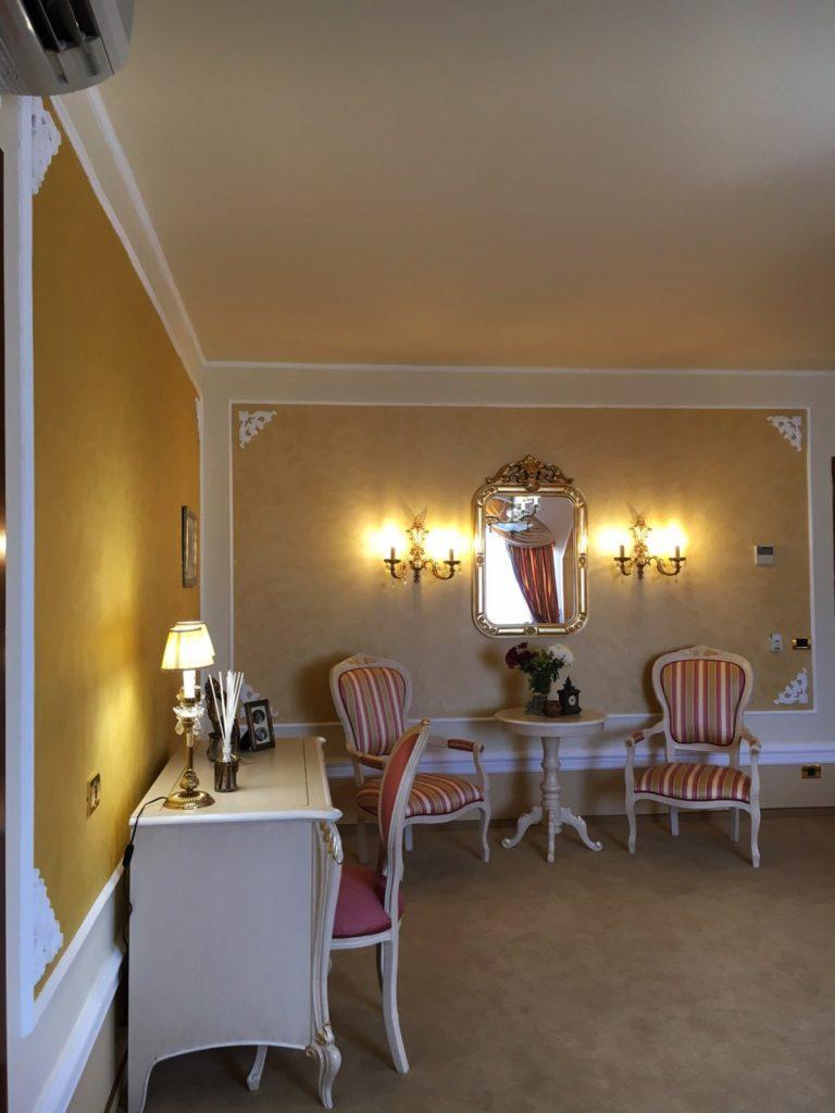 Camera hotel boutique 5 stele, Bucuresti - Design interior stil clasic