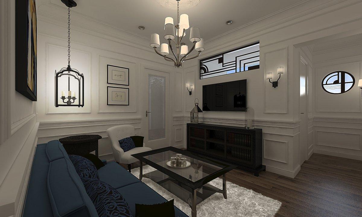 Amenajare apartament eclectic Bucuresti- Piata Romana-1