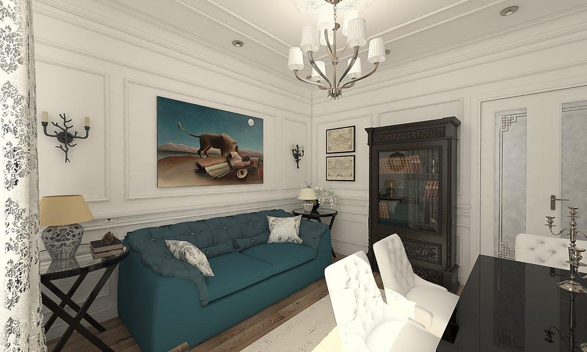 Amenajare apartament eclectic Bucuresti- Piata Romana-25