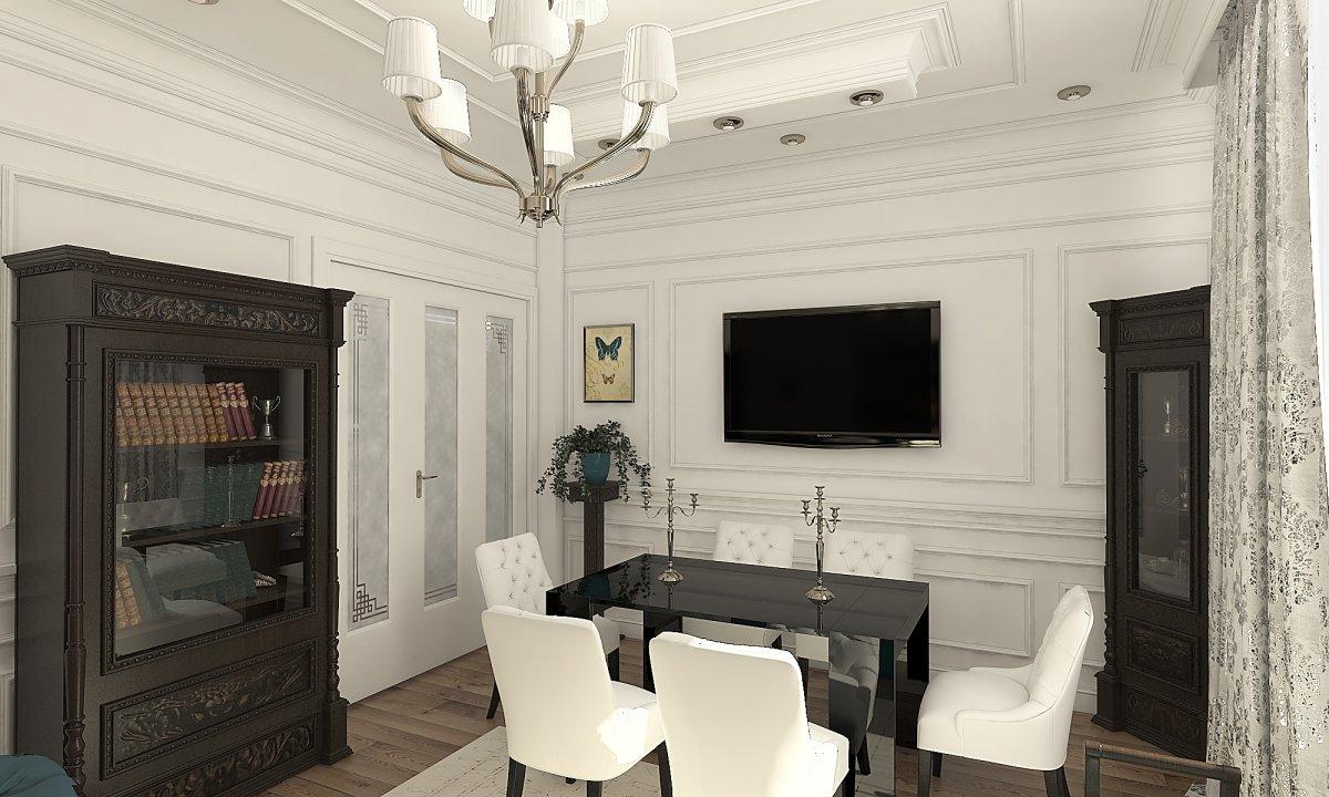 Amenajare apartament eclectic Bucuresti- Piata Romana-31