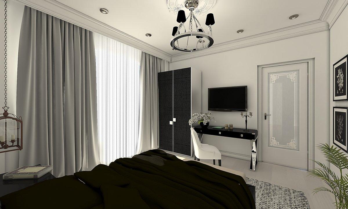 Amenajare apartament eclectic Bucuresti- Piata Romana-36