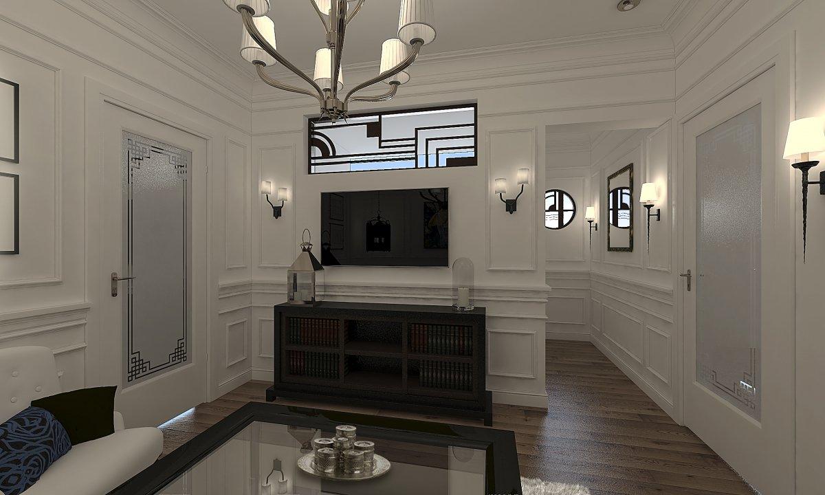 Amenajare apartament eclectic Bucuresti- Piata Romana-5