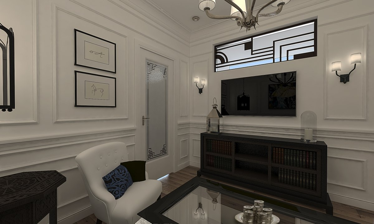 Amenajare apartament eclectic Bucuresti- Piata Romana-6
