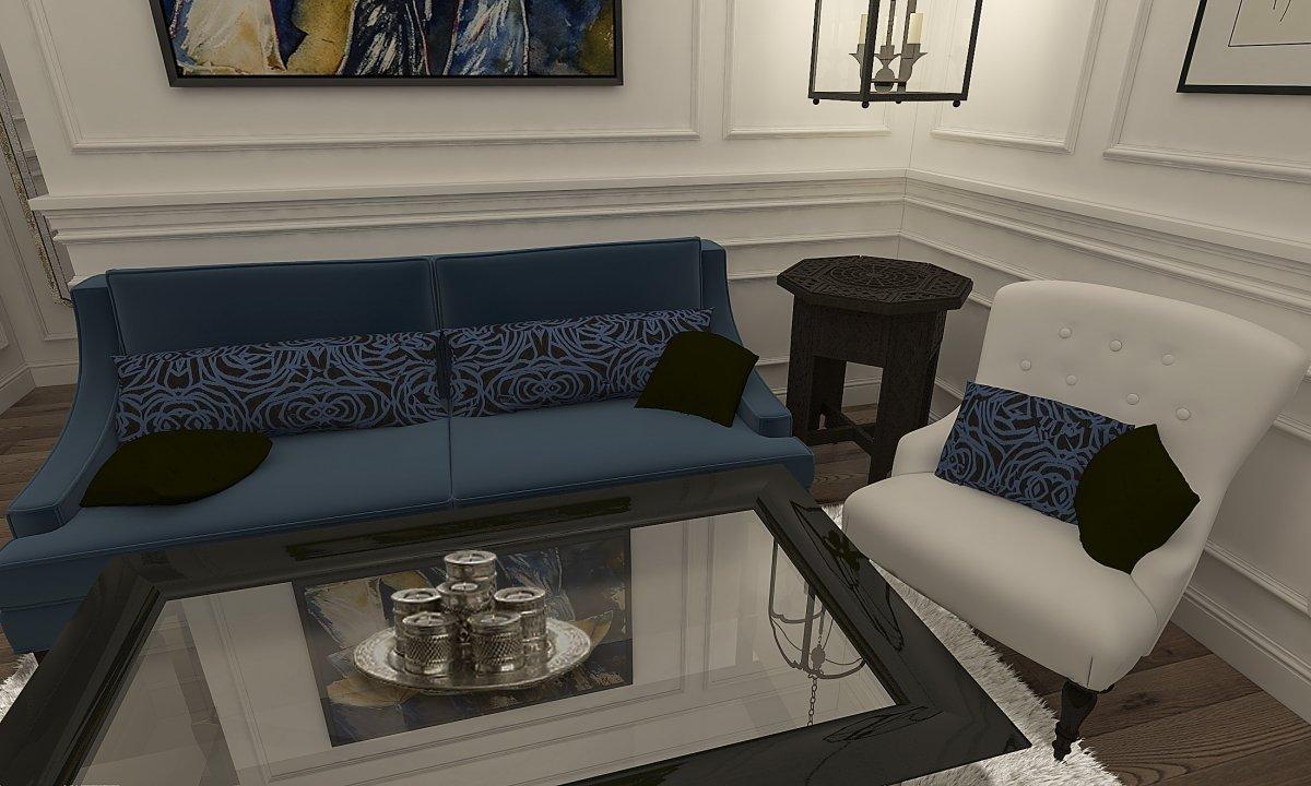 Amenajare apartament eclectic Bucuresti- Piata Romana-7