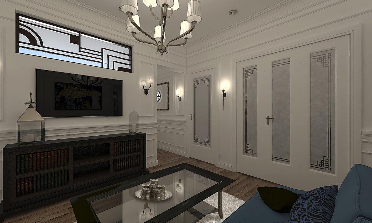 Amenajare apartament eclectic Bucuresti- Piata Romana-8