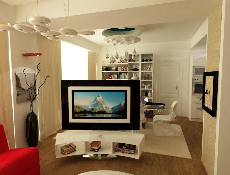 Amenajare interioara -Apartament - American Dream-1