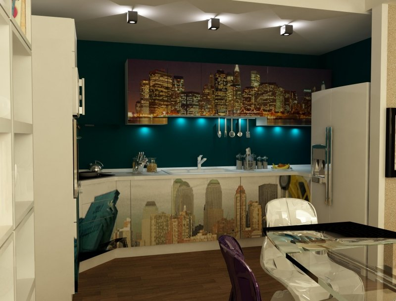 Amenajare interioara -Apartament - American Dream-18