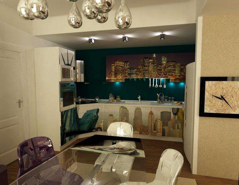Amenajare interioara -Apartament - American Dream-19