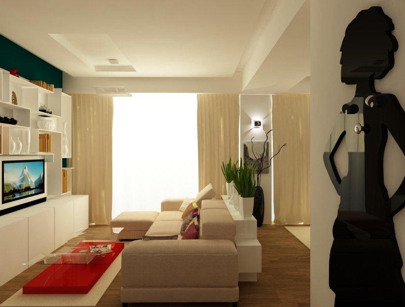 Amenajare interioara -Apartament - American Dream-4