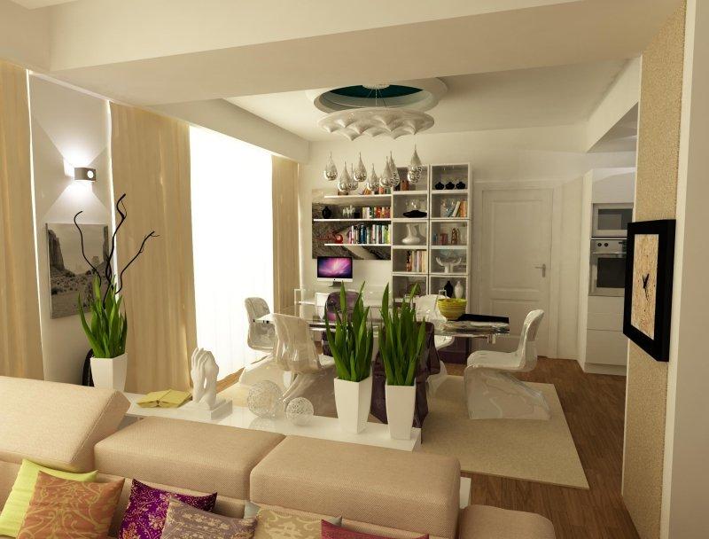 Amenajare interioara -Apartament - American Dream-5
