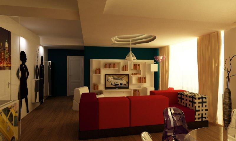 Amenajare interioara -Apartament - American Dream-7