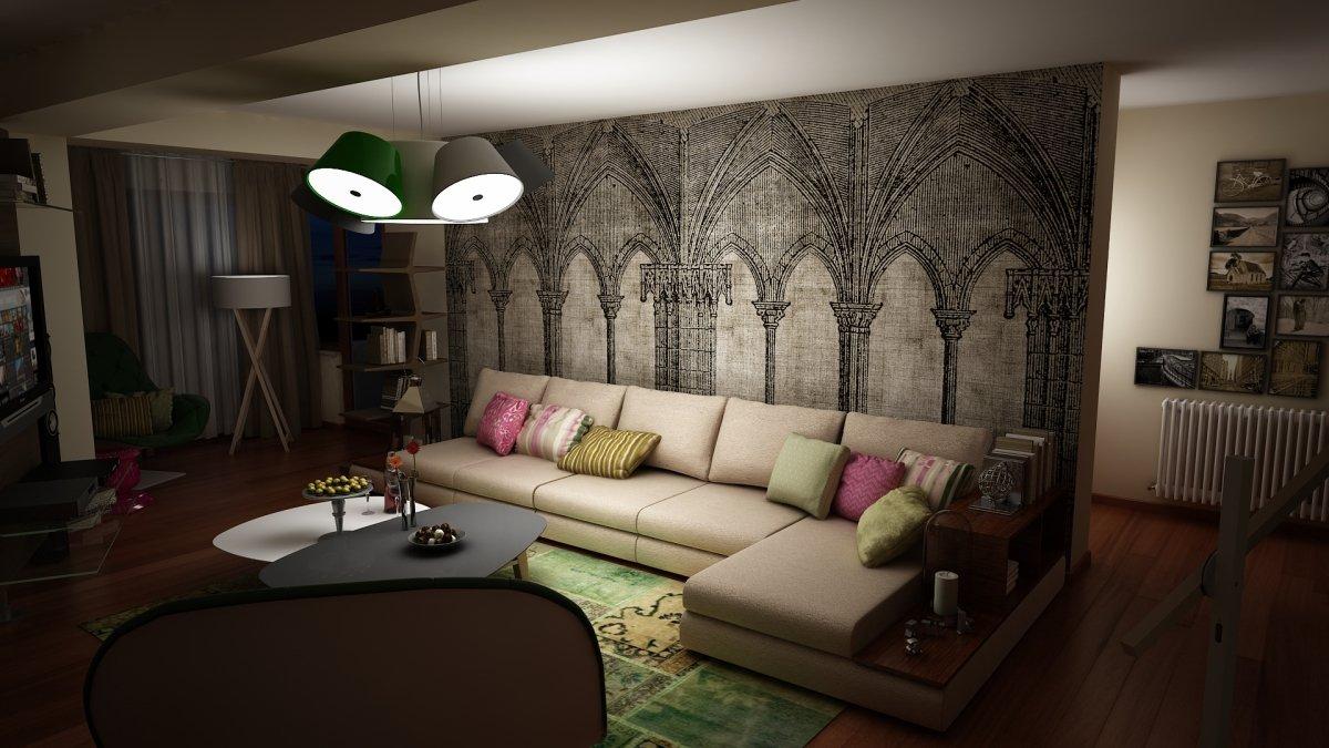 Amenajare interioara- Apartament Zona Vitan Bucuresti-9