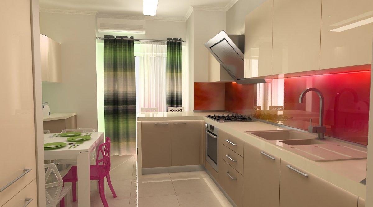 Amenajare interioara - Apartament accente Pop-art-28