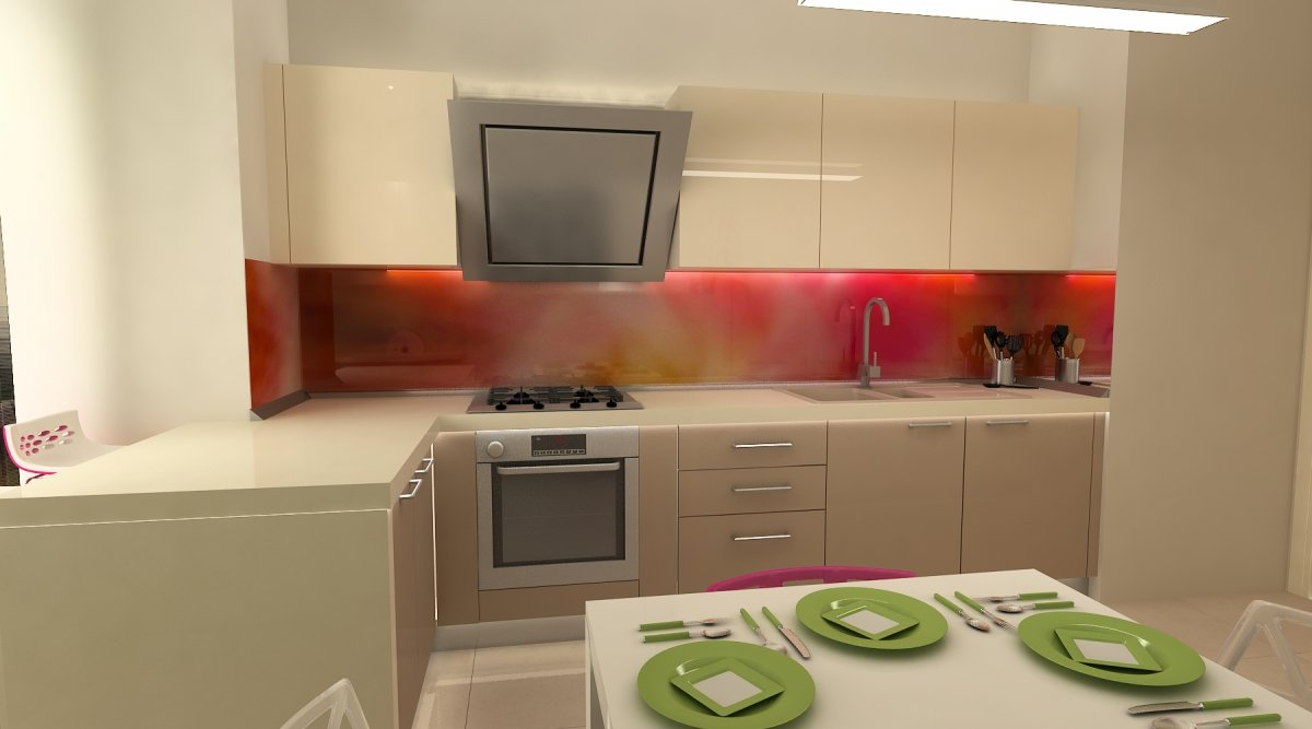 Amenajare interioara - Apartament accente Pop-art-29