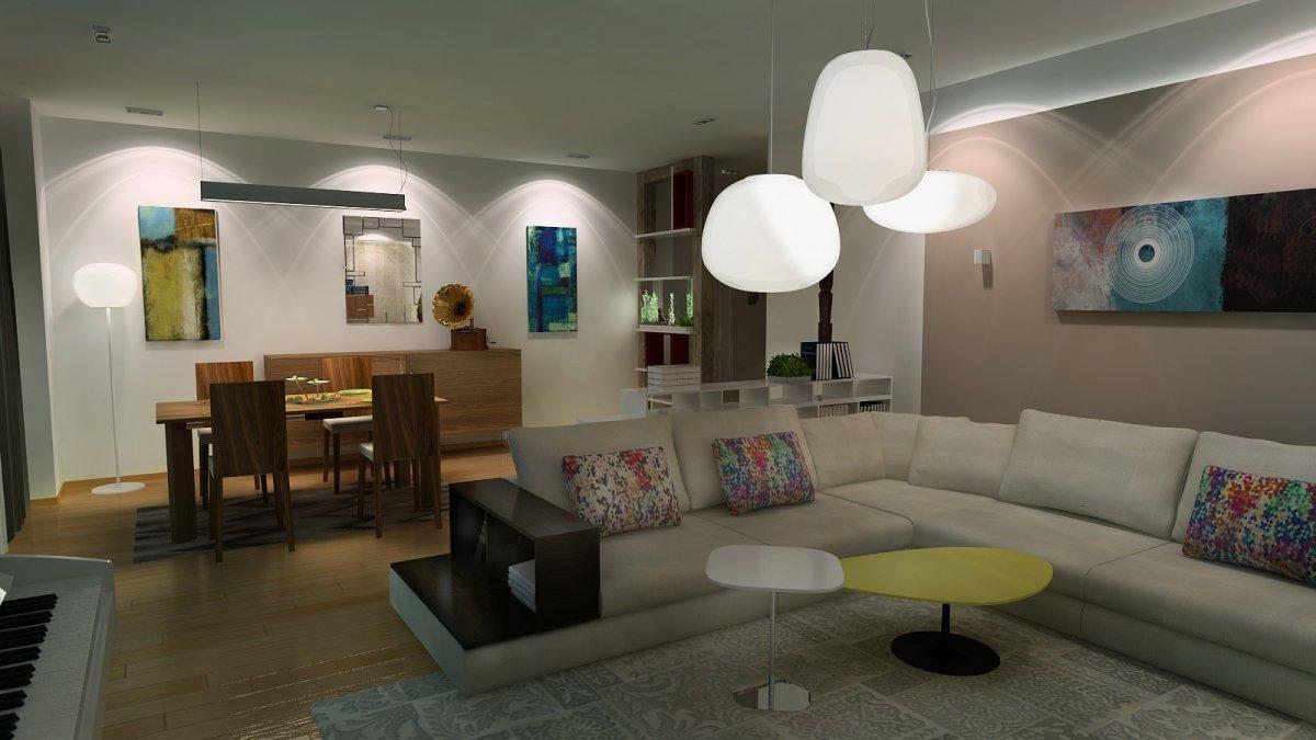 Amenajare interioara - Apartament accente Pop-art-7