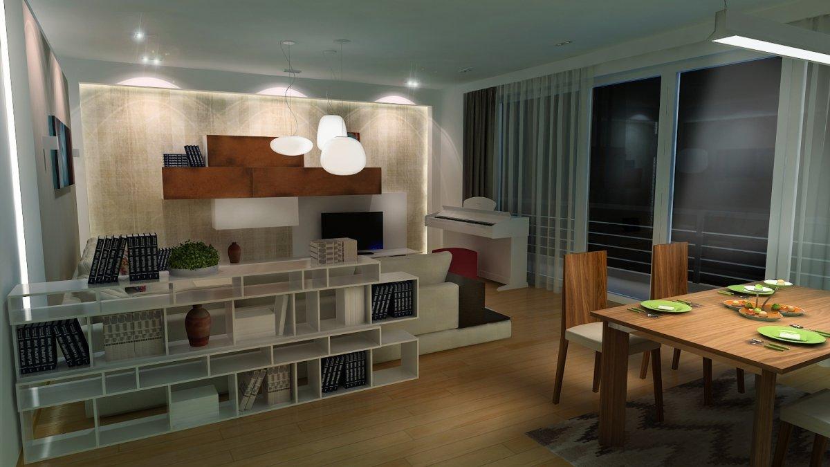 Amenajare interioara - Apartament accente Pop-art-8
