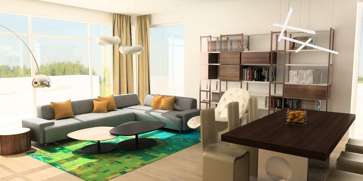 Amenajare interioara- Apartament de lux in zona Kiseleff-1