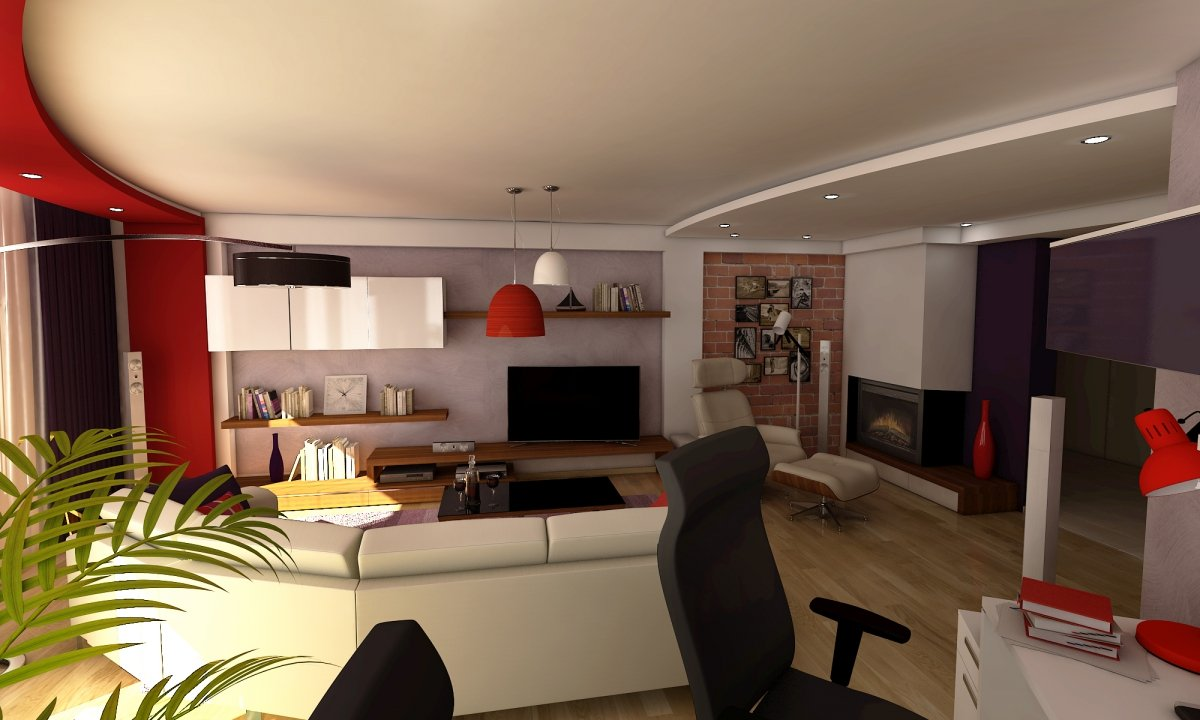 Amenajare interioara- Apartament modern Bucuresti-1