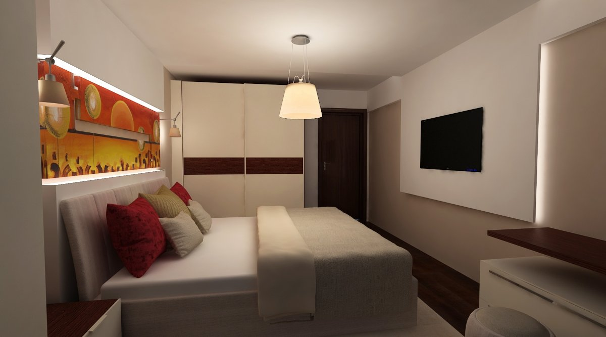 Amenajare interioara- Apartament modern Bucuresti-7
