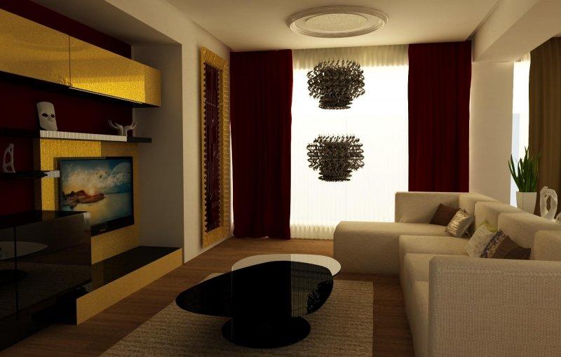 Amenajare interioara apartament a stranger in bucharest for Design apartment 2 camere