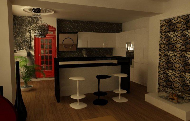 Amenajare interioara apartament - A stranger in Bucharest-15