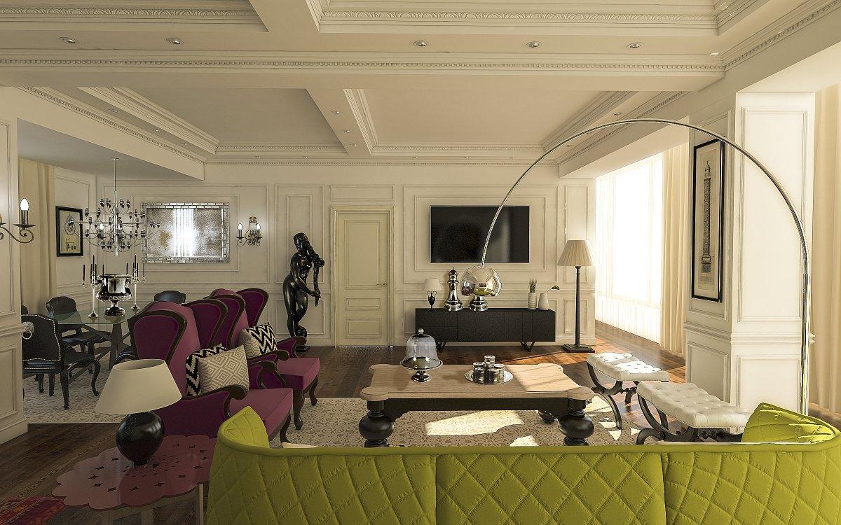 Amenajare interioara apartament- Farmecul stilului eclectic-4