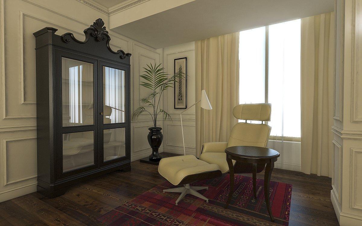 Amenajare interioara apartament- Farmecul stilului eclectic-6