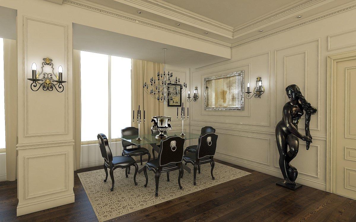 Amenajare interioara apartament- Farmecul stilului eclectic-7