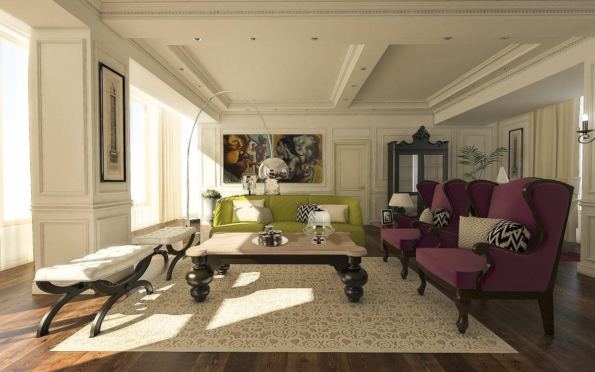 Amenajare interioara apartament- Farmecul stilului eclectic-9
