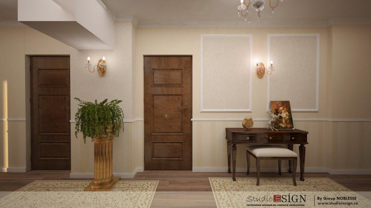 Amenajare interioara apartament clasic-1