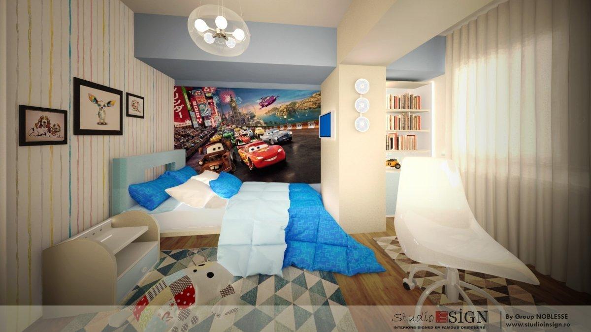Amenajare interioara apartament clasic-14