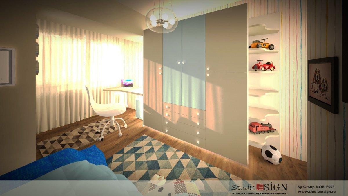 Amenajare interioara apartament clasic-15