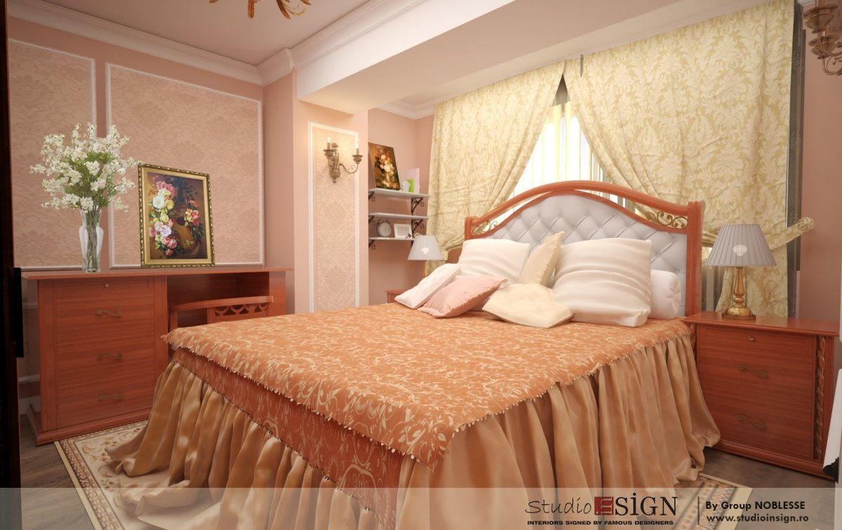 Amenajare interioara apartament clasic-4