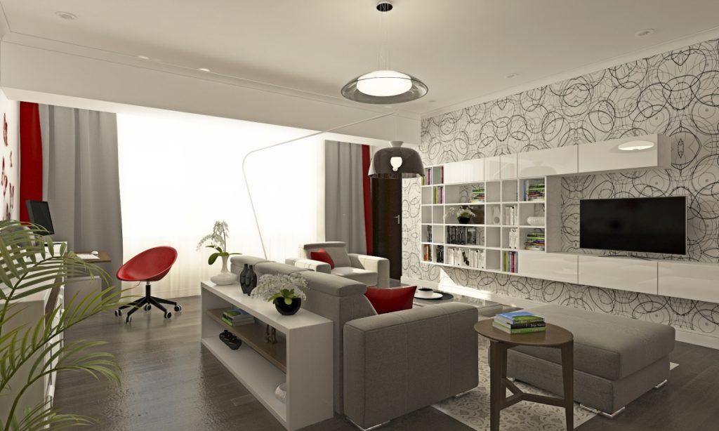 Apartment in vacaresti bucharest modern interior design for Apartment design guide part 1