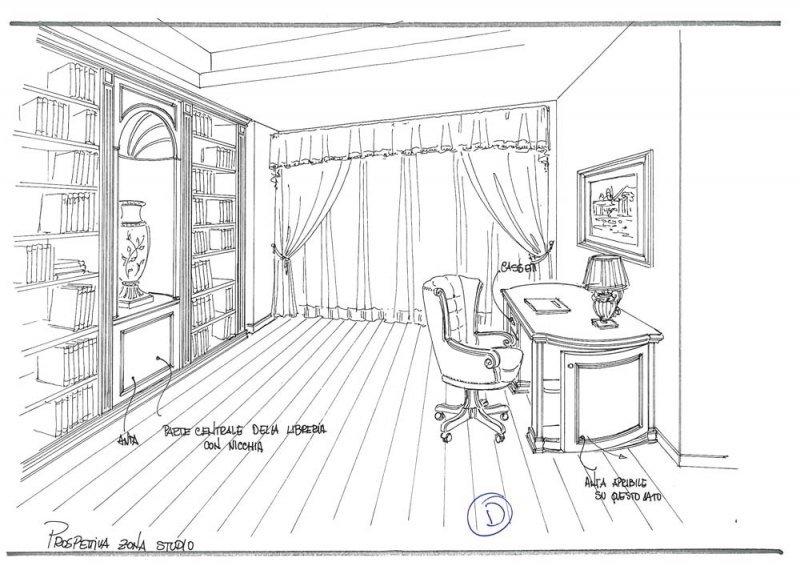 Amenajare interioara casa- Penthouse in stil clasic-2
