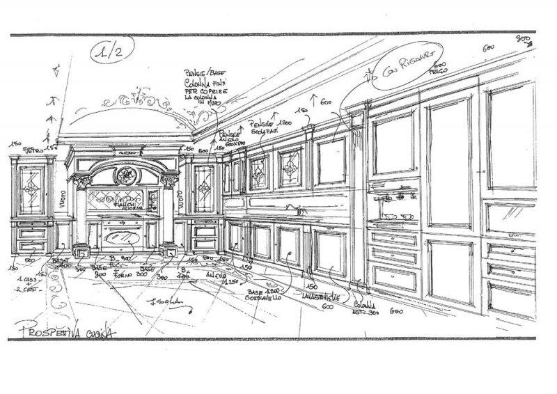 Amenajare interioara casa- Penthouse in stil clasic-6