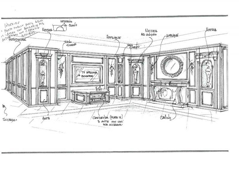 Amenajare interioara casa- Penthouse in stil clasic-7