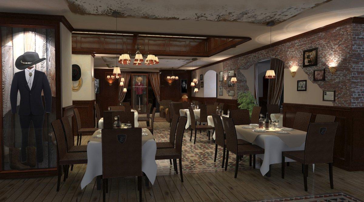 Amenajare interioara restaurant- Steak House-2