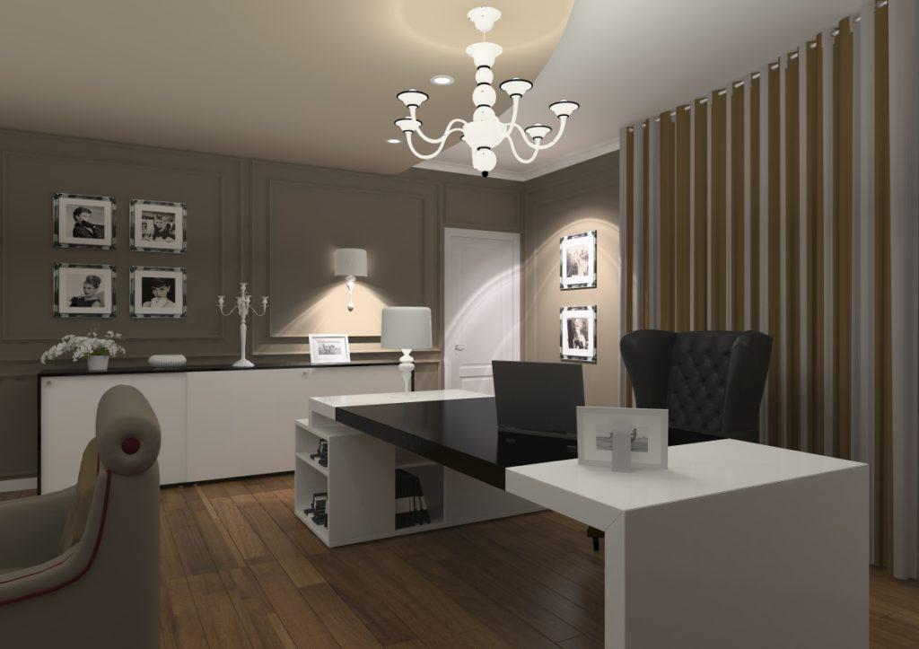 Amenajare interioara sediu de firma urgent curier for Simple office design ideas