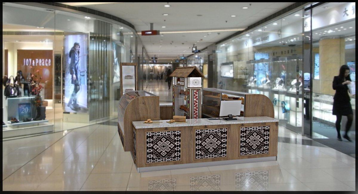 Amenajare interioara stand comercial produse de patiserie-5